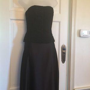 Melinda Eng Tops - MELINDA ENG Black 100% Silk Corset Bodice M